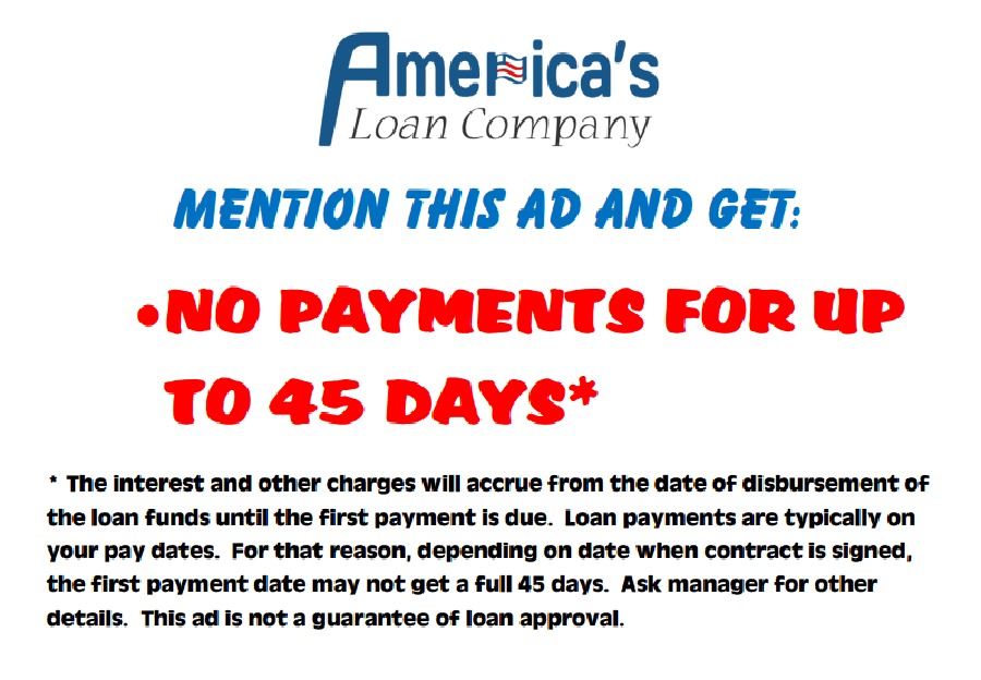 bad credit loan payments
